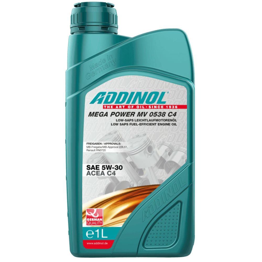 Масло Addinol Mega Power MV 0538 5W-30 C4 - 1 Литра