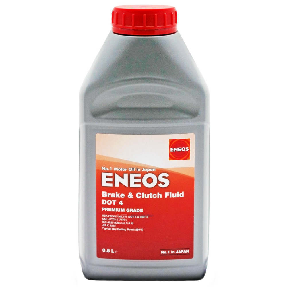Спирачна течност ENEOS Brake & Clutch Fluid DOT 4 - 500ml