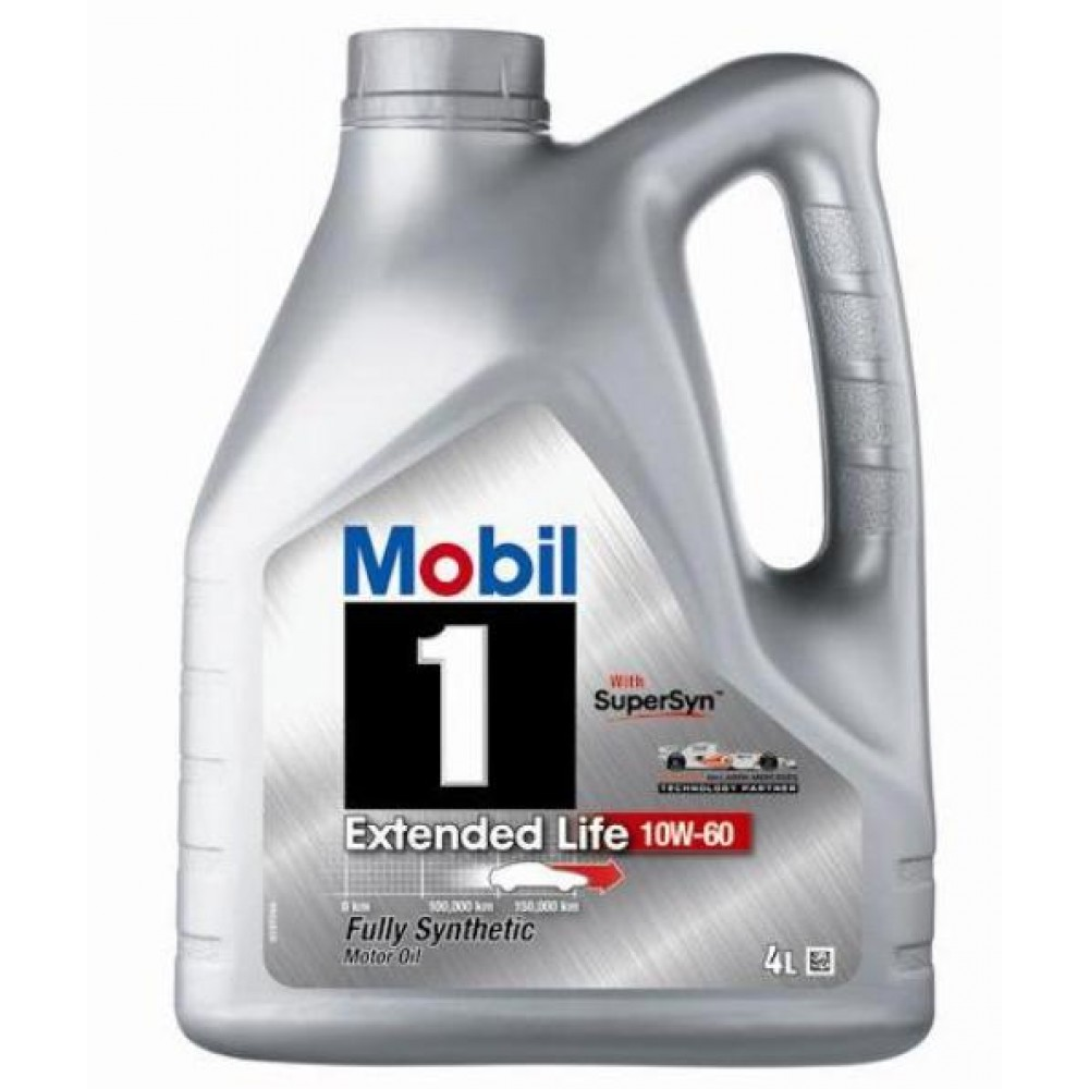 Масло Mobil 1 Extended Life 10W-60 - 4 Литра