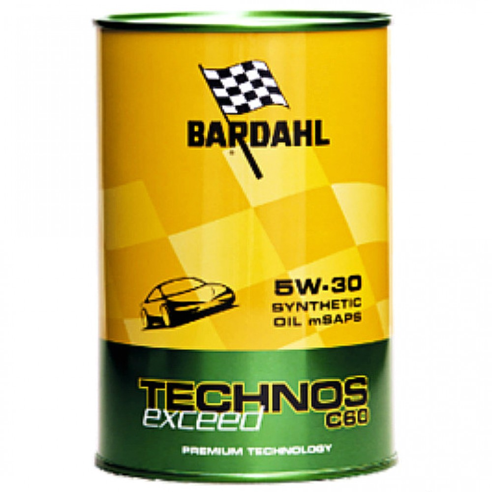 Масло BARDAHL Technos C60 Exceed 5W-30 - 1 Литър