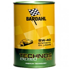 Масло BARDAHL Technos C60 Exceed 5W-40 - 1 Литър