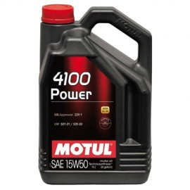 Масло Motul 4100 Power 15W-50 - 4 Литра