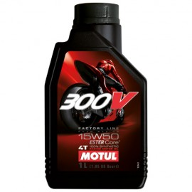 Масло Motul 300V FL Road Racing 4T 15W-50 - 1 Литър