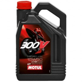 Масло Motul 300V FL Road Racing 4T 15W-50 - 4 Литра