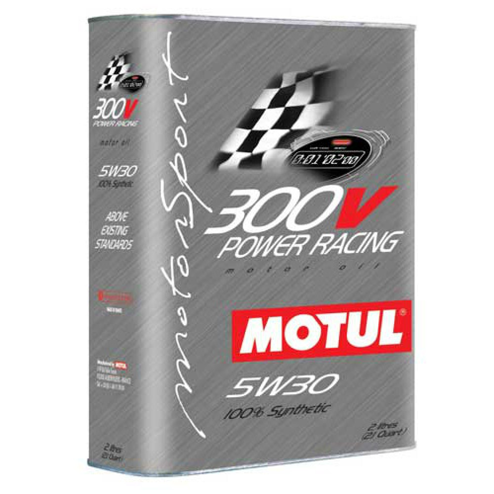 Масло Motul 300V Power Racing 5W-30 - 2 Литра