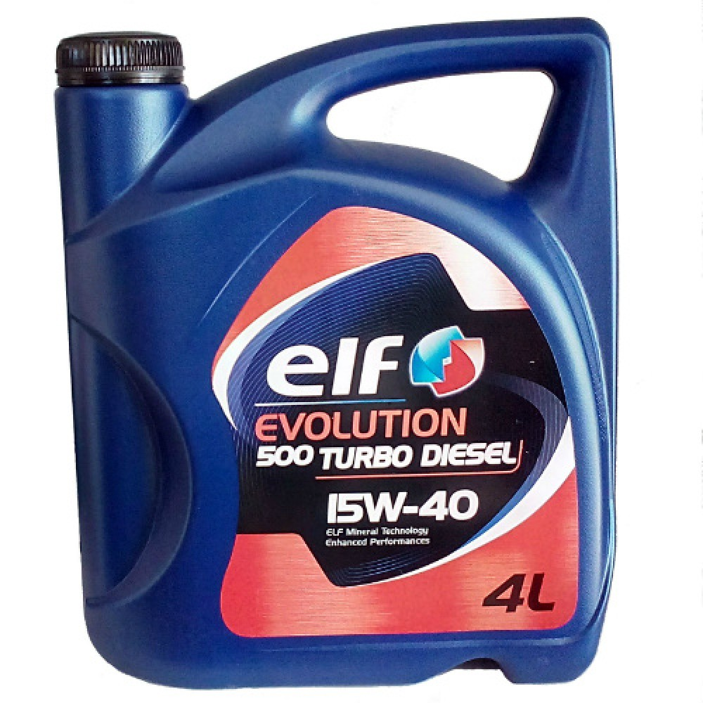 Масло Elf Evolution 500 Turbo Diesel 15W-40 - 4 Литра