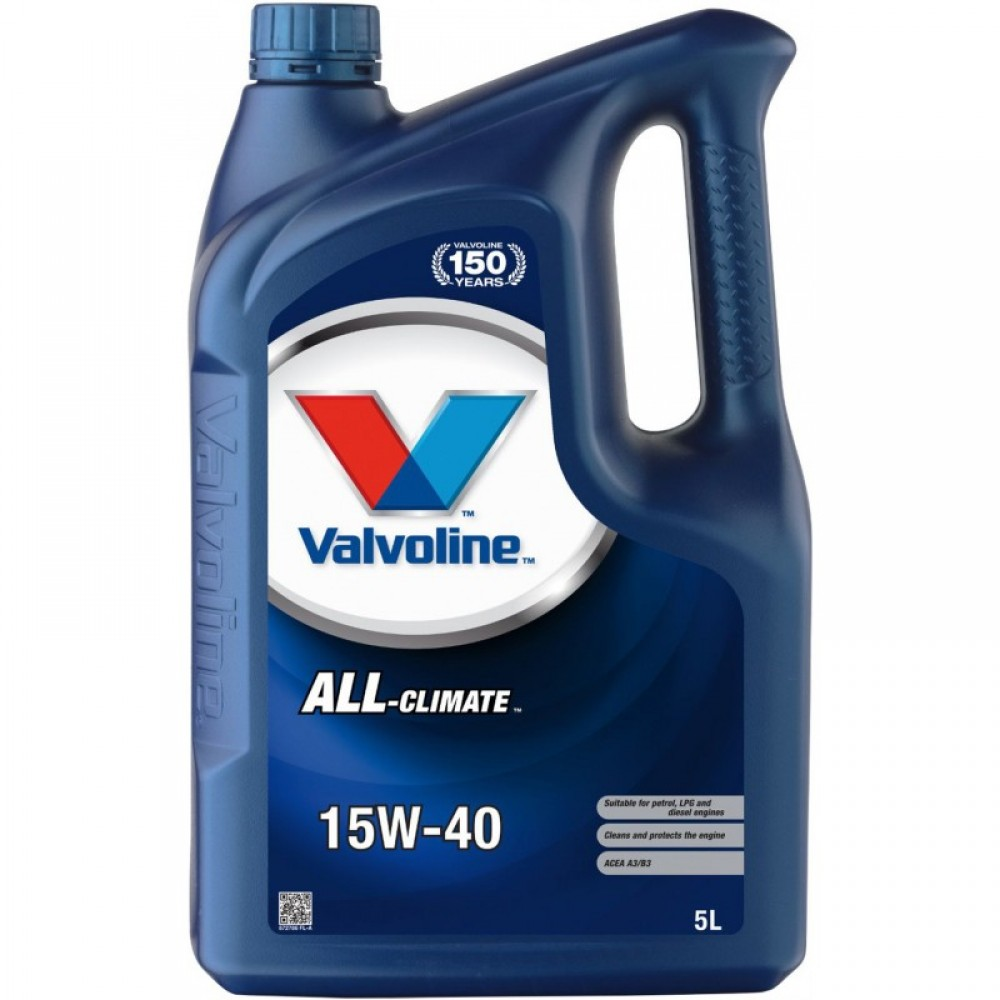 Масло VALVOLINE All Climate 15W-40 - 5 Литра