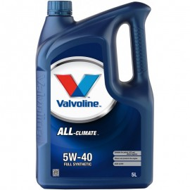 Масло VALVOLINE All Climate 5W-40 - 5 Литра