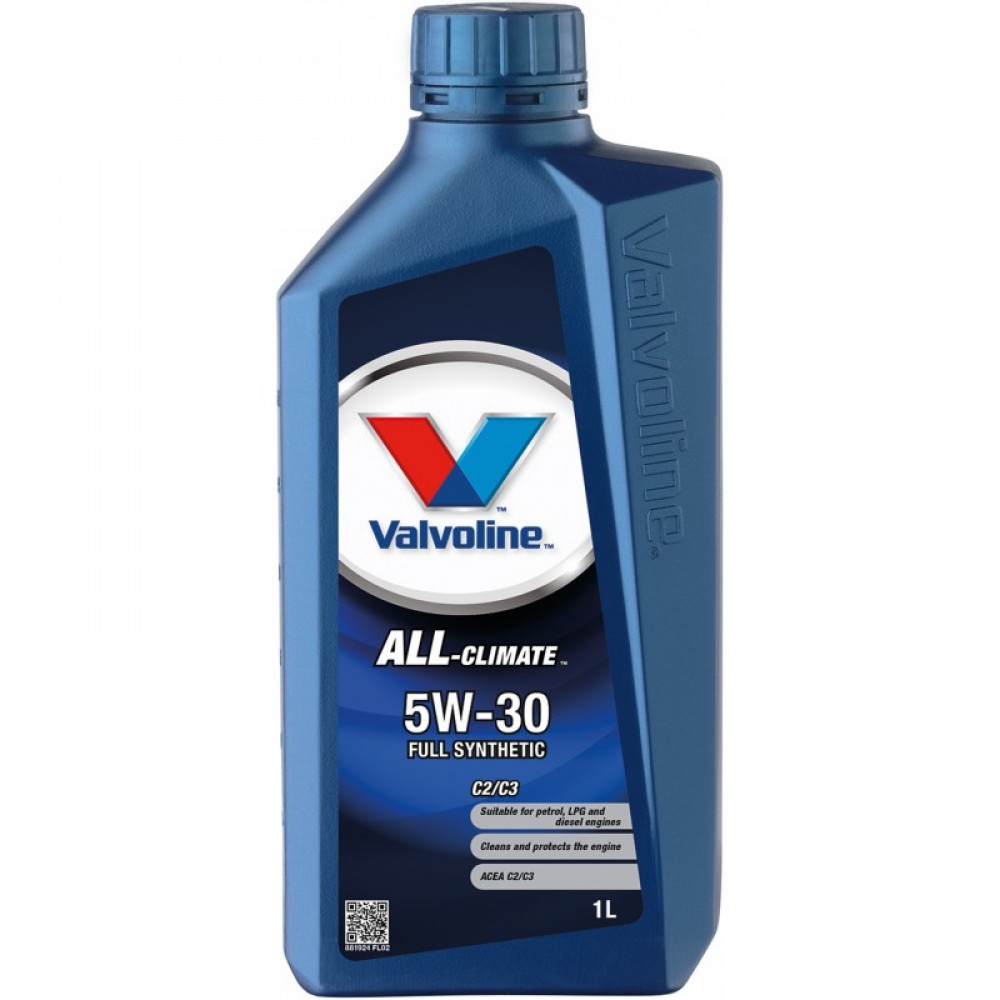Масло VALVOLINE All Climate C2/C3 5W-30 - 1 Литър